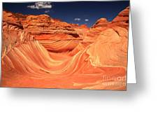 Swirls And Buttes At The Wave Greeting Card