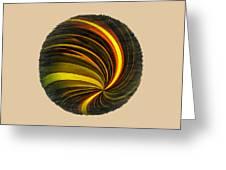 Swirls And Curls Greeting Card