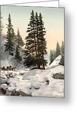 Switzerland: Davos, C1895 Greeting Card