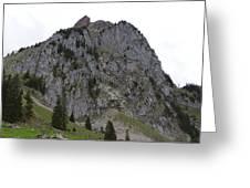 Switzerland. Large Mythen Greeting Card