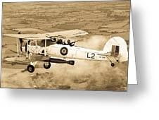 Swordfish Aircraft Greeting Card