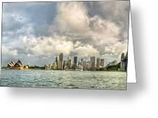 Sydney After A Rainstorm Greeting Card