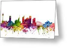 Sydney Australia Cityscape 06 Greeting Card