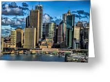 Sydney Australia Greeting Card