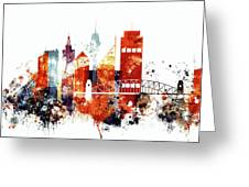 Sydney Cityscape Greeting Card
