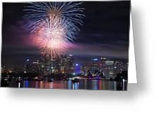 Sydney Fireworks Greeting Card