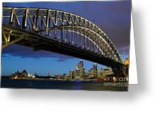 Sydney Harbor Bridge Greeting Card
