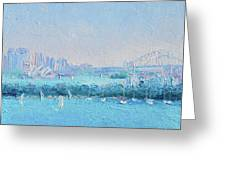 Sydney Harbour And The Opera House Greeting Card