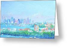 Sydney Harbour Impression Greeting Card