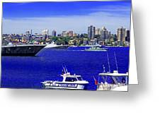 Sydney Harbour Watching Navy Fleet Review Photograph By