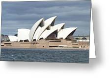 Sydney Opera House Panorama Greeting Card