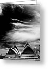 Sydney Opera House Portrait Greeting Card