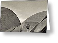 Sydney Opera House Roof Detail Greeting Card
