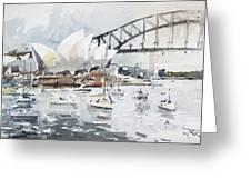Sydney Opera  Greeting Card