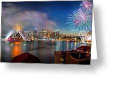 Sydney Sparkles Greeting Card