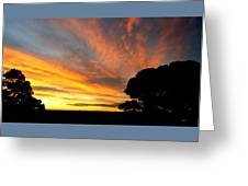 Sydney Sunset 10-06 Greeting Card