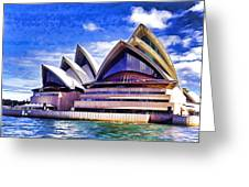 Sydney Symbol Greeting Card
