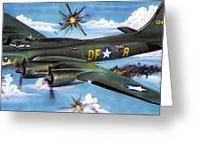 Syfy- Army Bomber Greeting Card