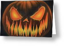 Syfy- Jackolantern Greeting Card