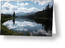 Sylvan Lake Greeting Card