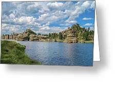 Sylvan Lake South Dakota Greeting Card