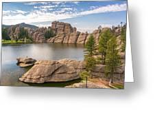 Sylvan Lake View Greeting Card