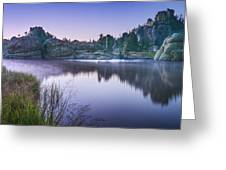 Sylvan Sunset Greeting Card