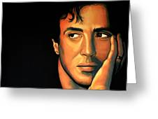 Sylvester Stallone Greeting Card