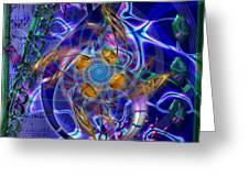 Symagery 20 Greeting Card by Kenneth Armand Johnson
