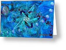 Symagery 34 Greeting Card by Kenneth Johnson