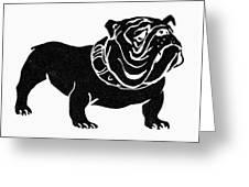 Symbol: Bulldog Greeting Card