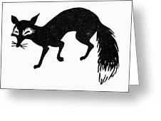 Symbol: Fox Greeting Card