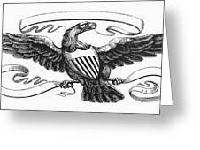 Symbols: American Eagle Greeting Card