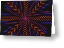 Symmetry 15 Greeting Card