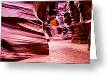 Antelope Canyon Light Greeting Card