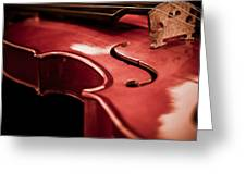 Symphony Of Strings Greeting Card