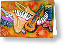 Symphony Of The Soul Greeting Card