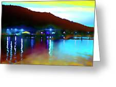 Symphony River Greeting Card