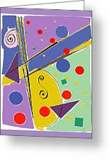 Syncopated Rhythm Greeting Card