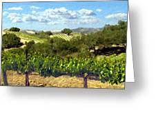 Syrah For Miles Greeting Card
