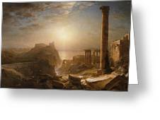 Syria By The Sea Greeting Card by Frederic Edwin Church
