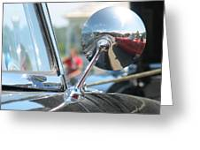 T-bird Reflections Greeting Card