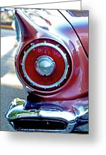 T-bird Tail Greeting Card