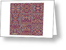 T J O D Mandala Series Puzzle 3 Variations 1-9 Greeting Card