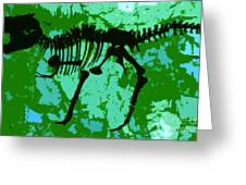 T. Rex Greeting Card