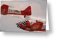 T6 Aerobatics II Greeting Card