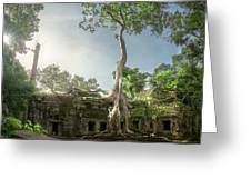 Ta Prohm Temple  Greeting Card