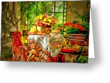Table For Two In Ambiance Greeting Card