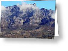 Table Mountain In The Clouds Greeting Card
