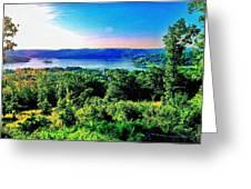 Table Rock Lake Greeting Card